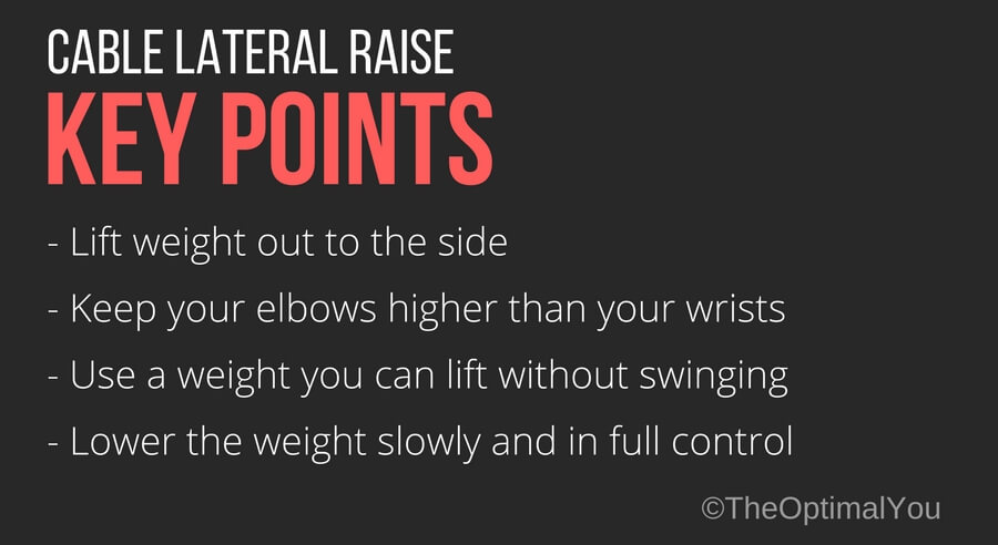 one arm cable lateral raise the optimal you online