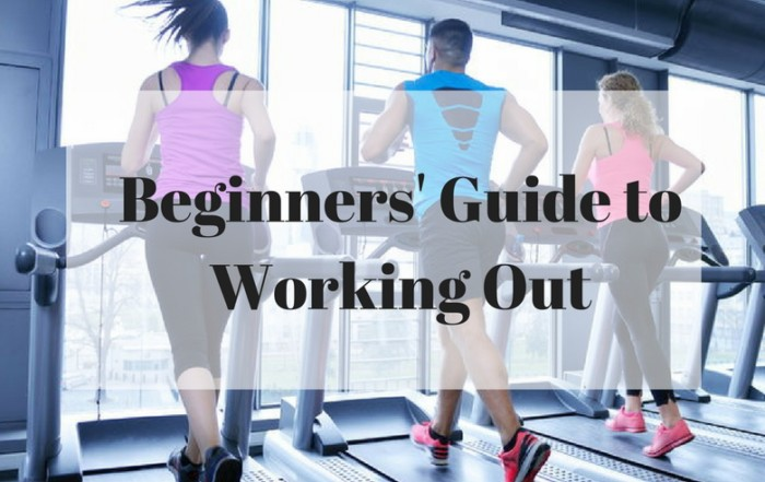 The Beginners Guide to Working Out