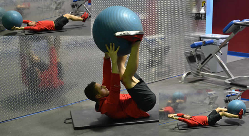 Hand to Feet Ball Pass Male Online Personal Training