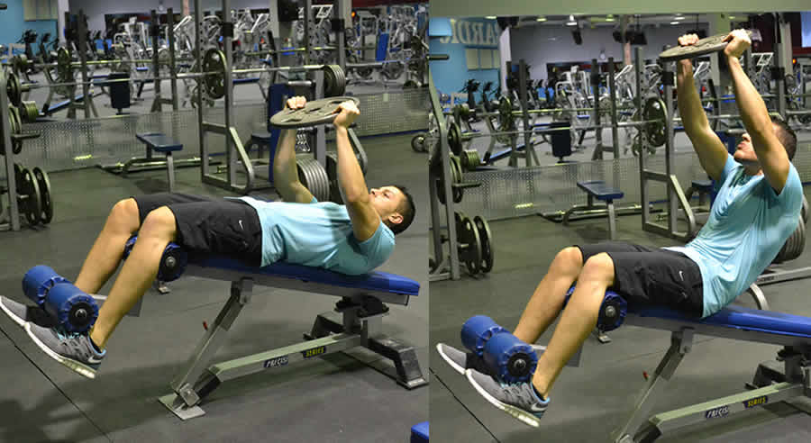 weighted crunches on decline bench exercise the optimal you