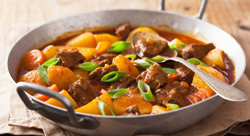 Beef and Potato Stew as Recommended by a Holistic Nutiritonist