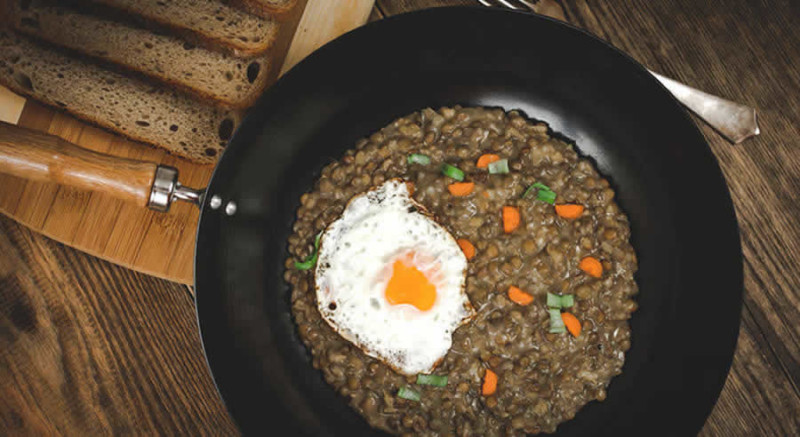 Eggs & Lentils as Recommended by a Holistic Nutritionist