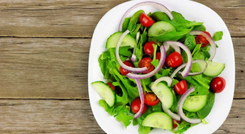 Garden Salad as Recommended by a Holistic Nutiritonist