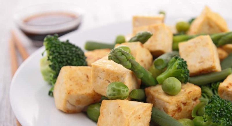 Grilled Tofu Vegetables as Recommended by a Holistic Nutiritonist