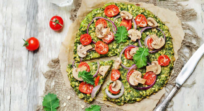 Low Carb Pizza as Recommended by a Holistic Nutritionist