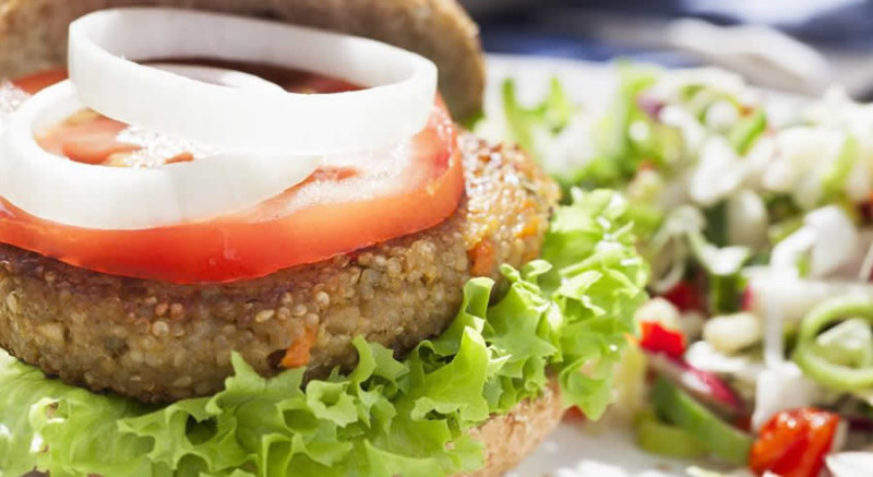 Quinoa Sweet Potato Burger as Recommended by a Holistic Nutritionist