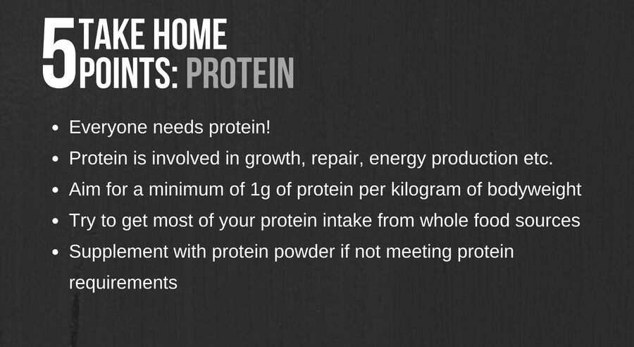 Protein: List of 5 facts