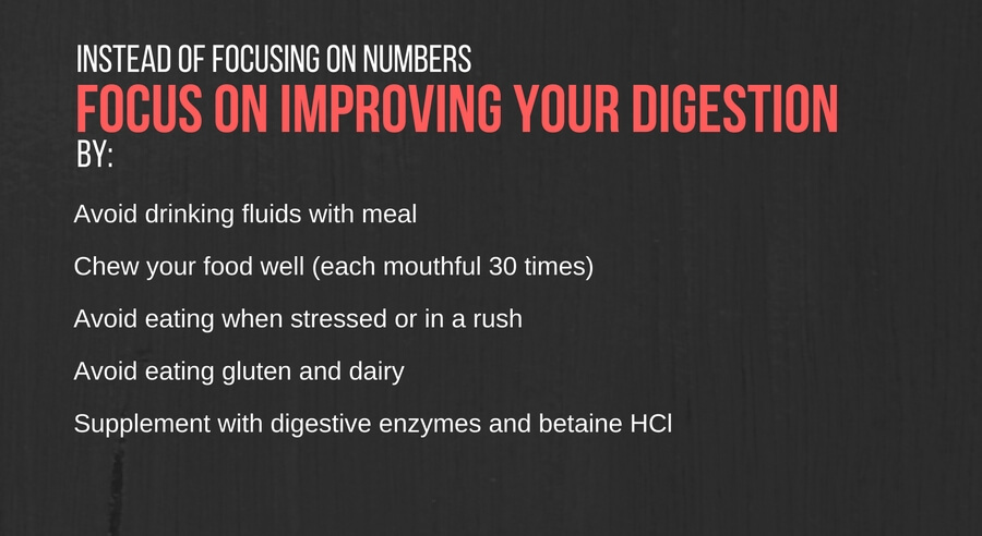 IIFYM tips: focus on improving your digestion for maximum absorption